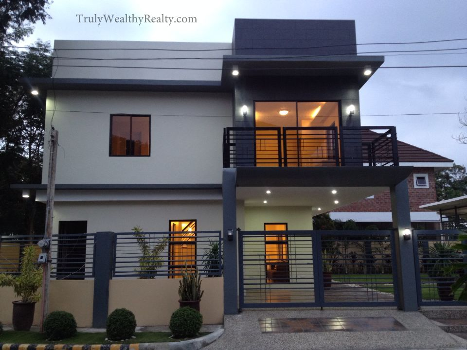 Brand New Modern House In Xavier Estates Corner Lot