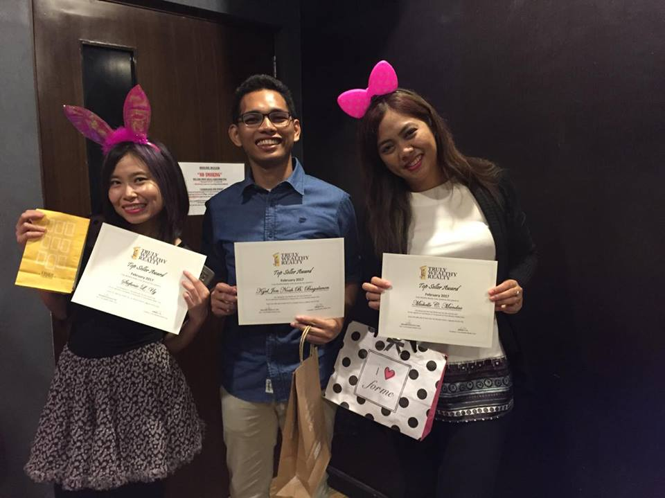 Truly Wealthy Realty Corp. first quarter 2017 awarding10