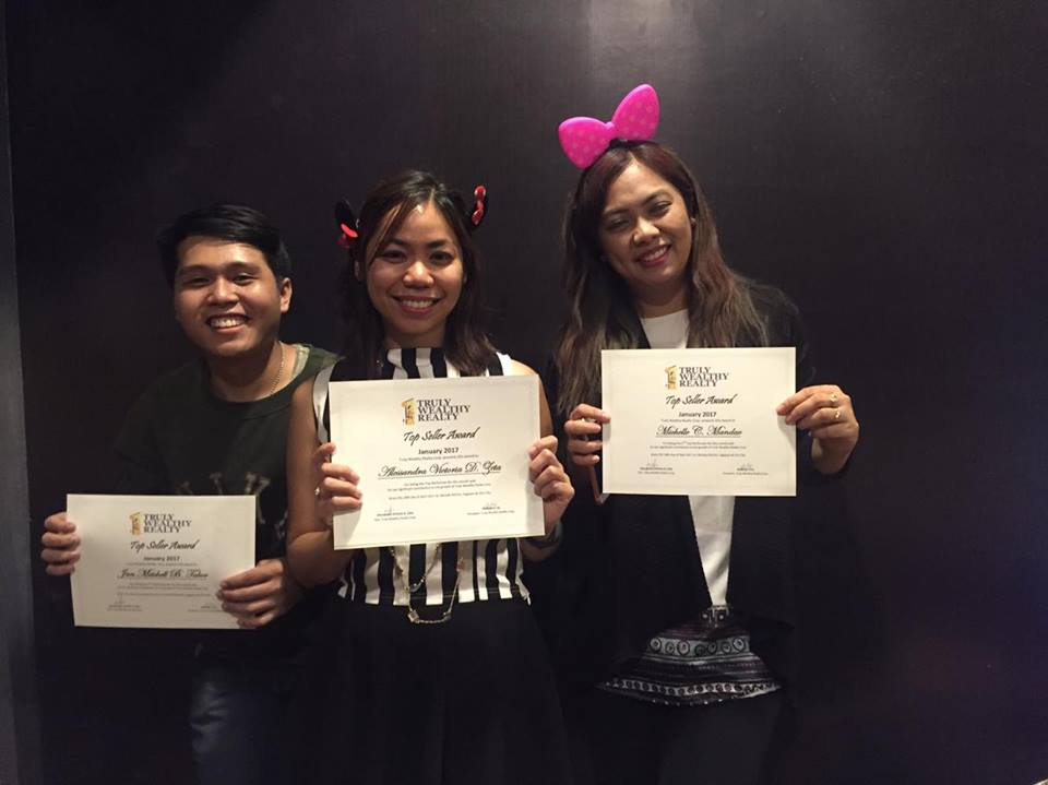 Truly Wealthy Realty Corp. first quarter 2017 awarding8