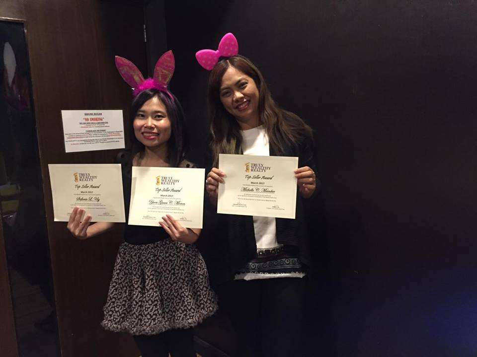 Truly Wealthy Realty Corp. first quarter 2017 awarding9